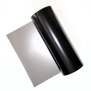 Thousand Oaks Silver-Black Polymer Bulk Rolls