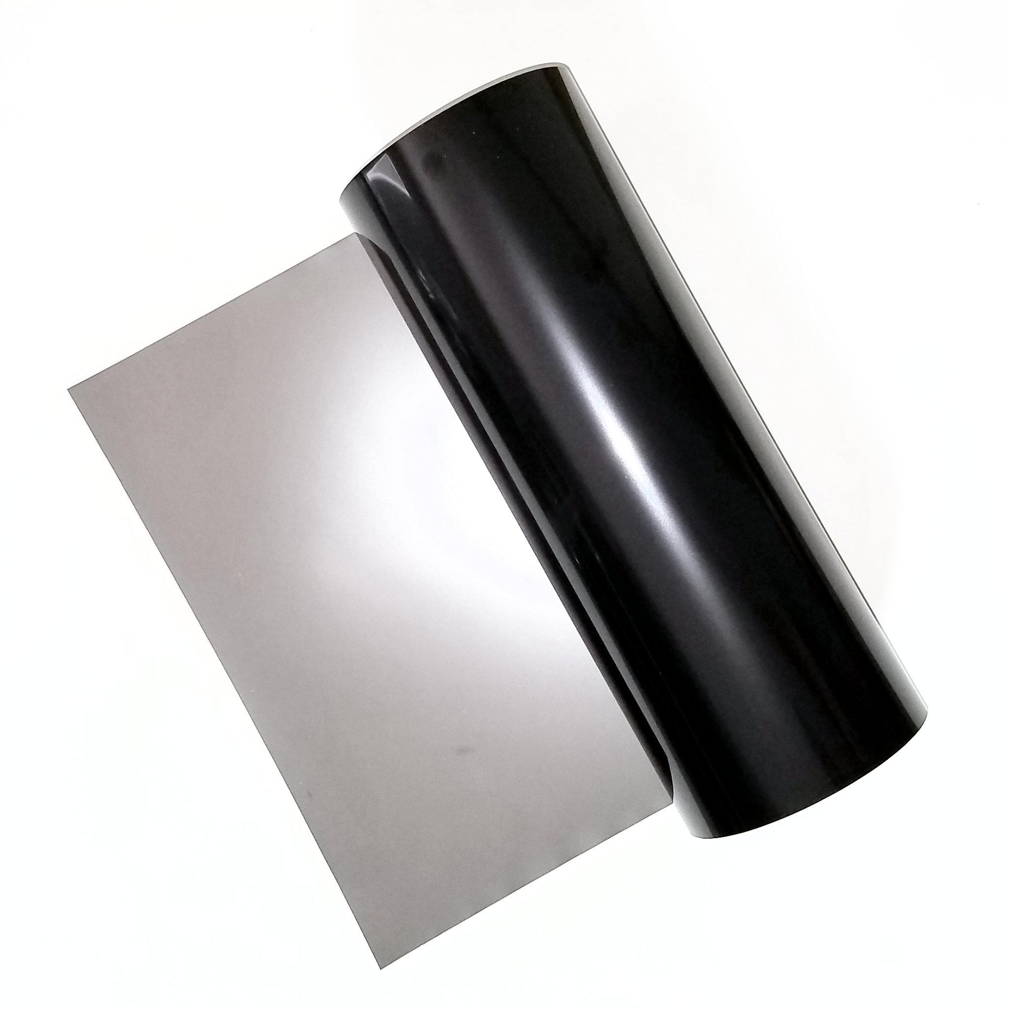 Thousand Oaks Silver-Black Polymer Bulk Rolls